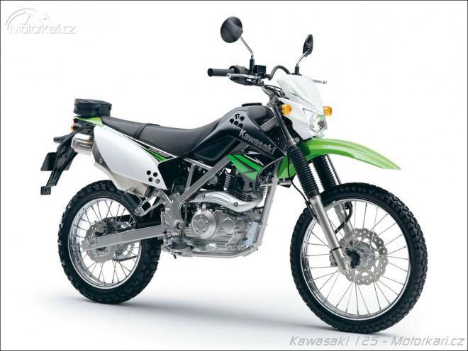 Kawasaki KLX125 a D-Tracker 125