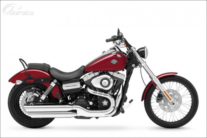 Harley Davidson modely 2010