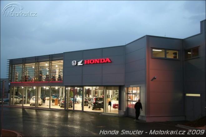 Nová prodejna Honda Šmucler