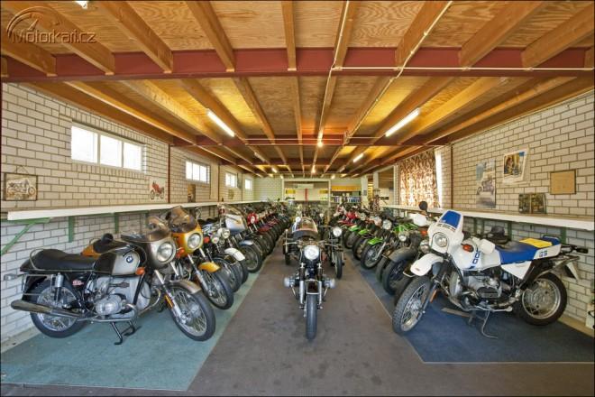 Nejvìtší sbírka motocyklù BMW jde do prodeje