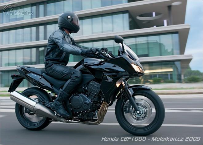 Nová Honda CBF1000