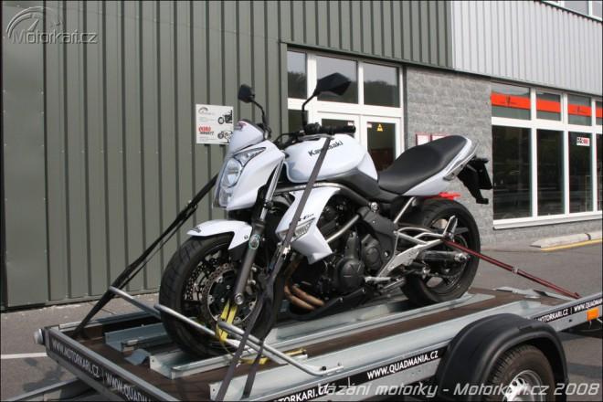 Pøevoz motorky