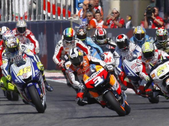 MotoGP: Kdo je lep��?  Rossi nebo Stoner?