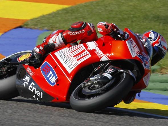 Valencia - MotoGP a Moto2, 1. den