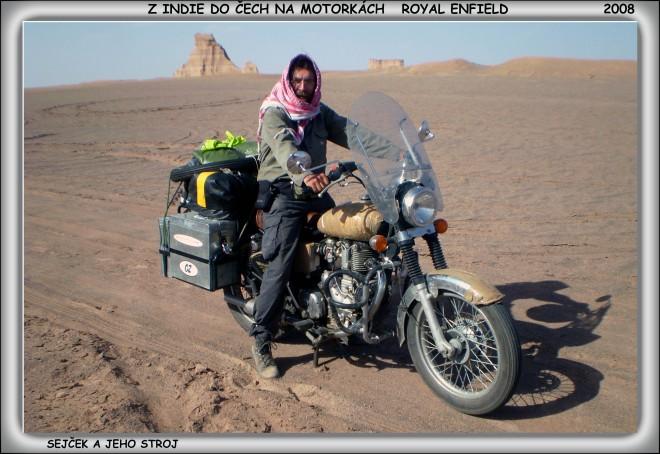 Z Indie do Èech na motorkách Royal Enfield - 2. díl