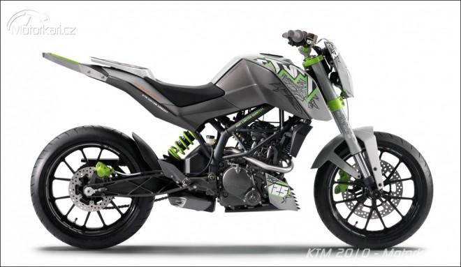 Novinky KTM 2010