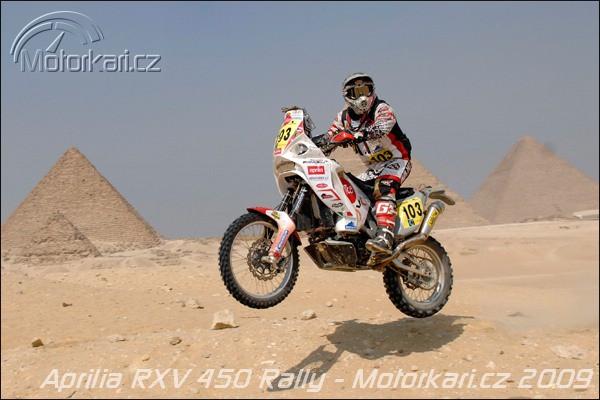 Aprilia se oficiálnì zúèastní Rally Dakar 2010