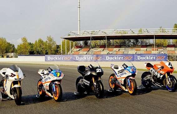 Moto2 - testy ve Valencii, 1. den