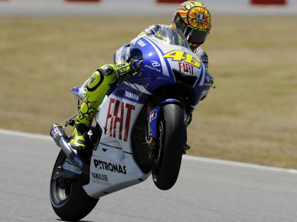 Rossi je na ètvrtém místì!