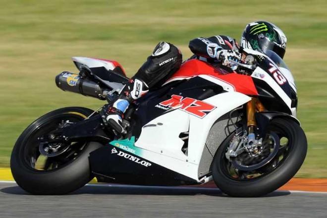 Moto2 - testy ve Valencii, 2. den