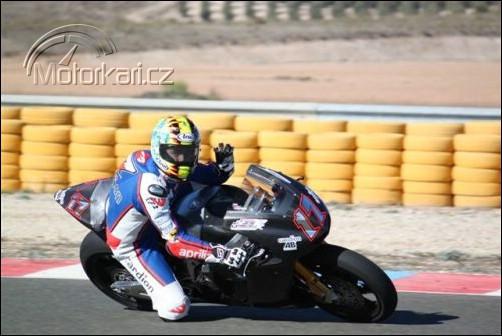 Moto2: Testy v Almerii - 2. den