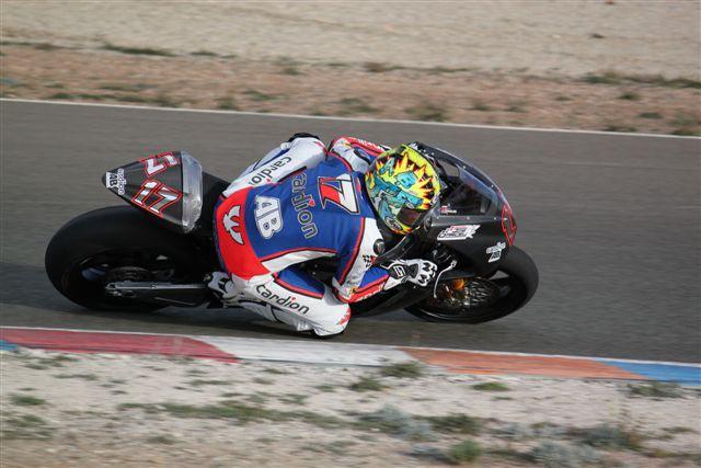 Moto 2: Postøehy z testù na okruhu v Almerii