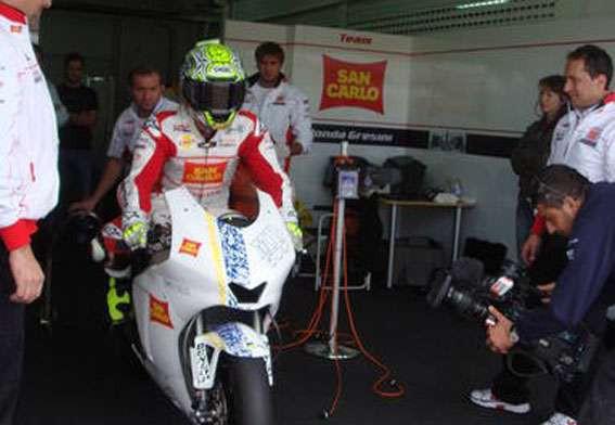 Moto2: Elias podepsal u Gresiniho