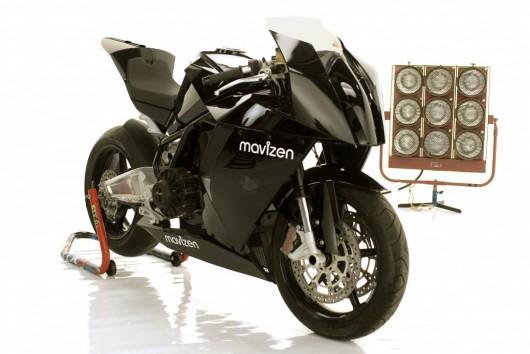 Elektrický supersport Mavizen TTX02