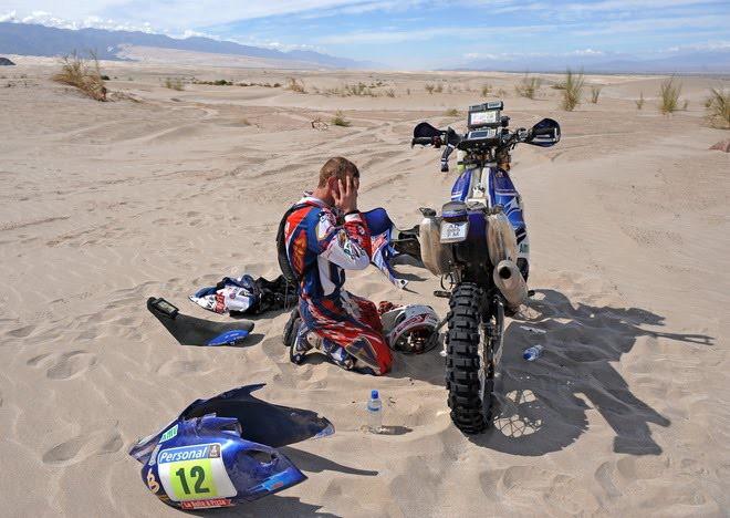 Rally Dakar - Tøetí etapa a velké problémy motorkáøù