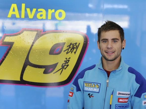 MotoGP: Bautista poprvé v modrých barvách Suzuki