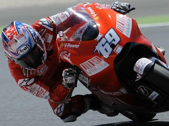 MotoGP: Hayden hledá další desetinky