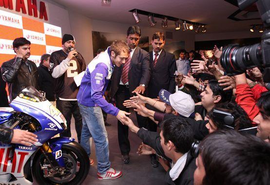 MotoGP: Rossi na návštìvì v Indii