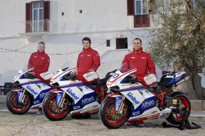WSBK: Prezentace týmu Althea Ducati