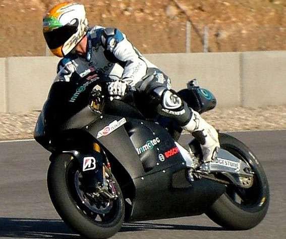MotoGP: Španìlský Inmotec pilnì testuje