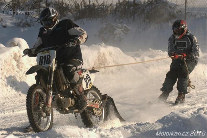 Fotogalerie z motoskijöringu