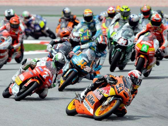 MotoGP: Startovní listina stopìtadvacítek