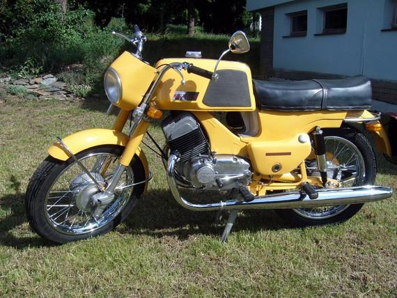 Renovace Jawy 350-633 Bizon