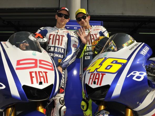 MotoGP: Prezentace Yamahy na videu