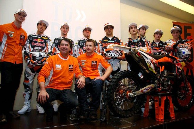 Reportáž z Mantovy - KTM Factory Racing 2010
