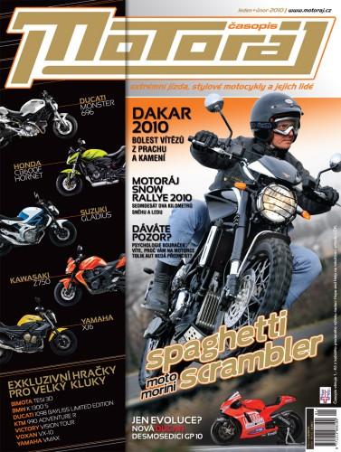 Motoráj leden + únor 2010