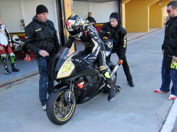 Moto2: Talmacsi testoval Hondu CBR