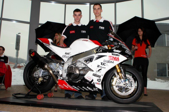 MS Racing: První testy s Aprilii ve Valencii (1.)