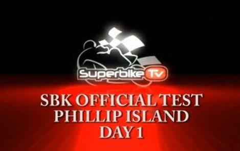 Testy WSBK Phillip Island