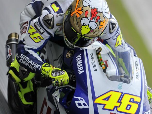Nejvìtším favoritem je Valentino Rossi