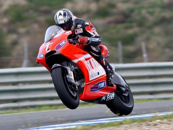 Ducati: V Jerezu s Cardosem