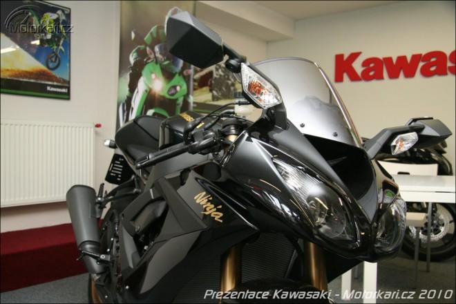 Prezentace novinek Kawasaki 2010