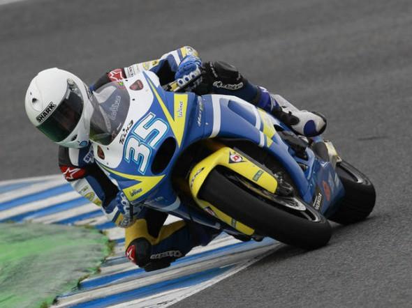 Moto2: Test IRTA v Jerezu - 3. den