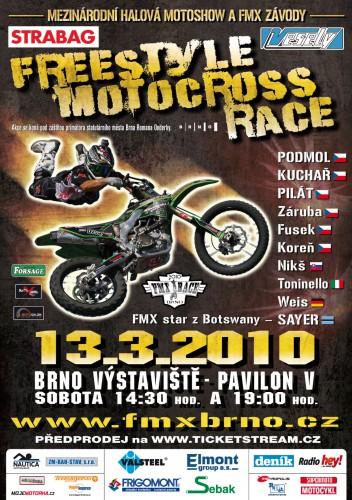 Pozvánka na FMX Race Brno