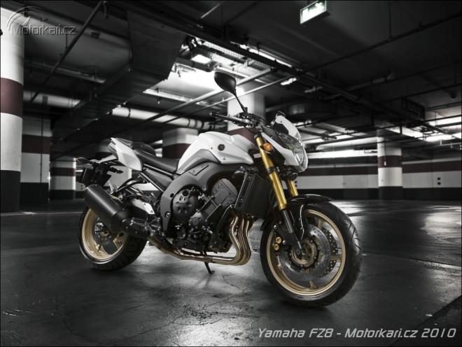Nová Yamaha FZ8/FZ8 Fazer