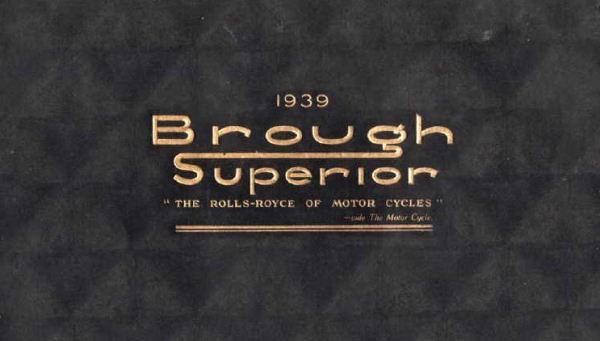 Zaniklé znaèky: Brough Superior