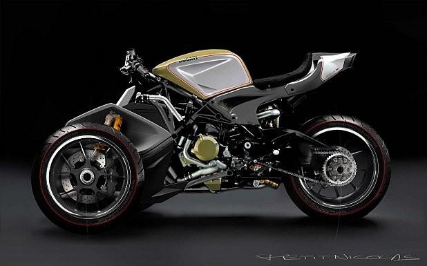 3-kolové Ducati Desmosedici RR