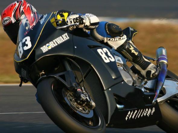 Moto2: Moriwaki testuje v Motegi