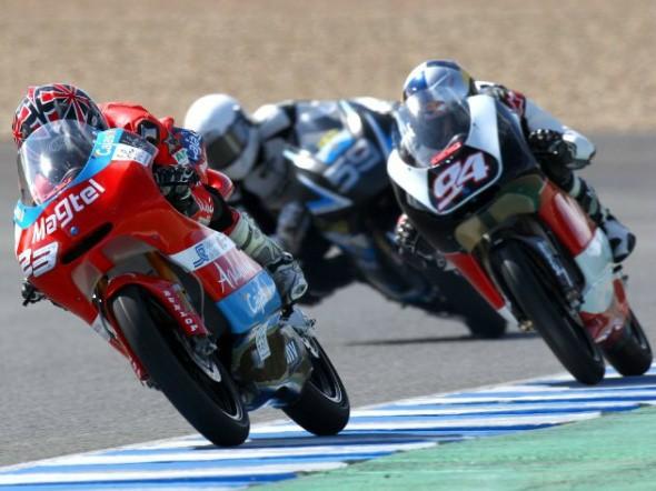 125 ccm: Test IRTA v Jerezu - 1. den