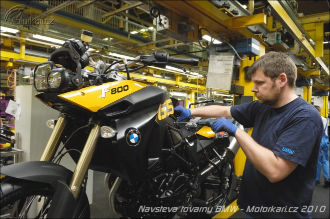 Návštìva továrny BMW