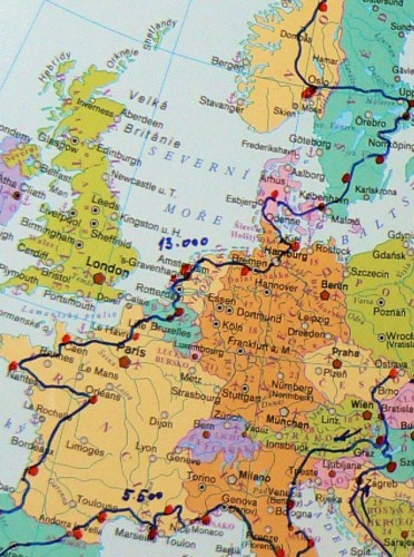 Na motorce kolem Evropy ��st III.