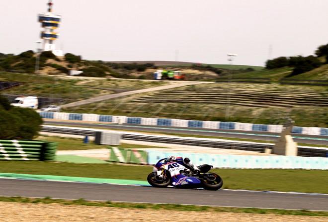 Karel Abraham mìl v Jerezu skvìlý finiš