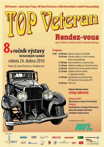 Veterán sraz - Top Veteran Rendez-vous