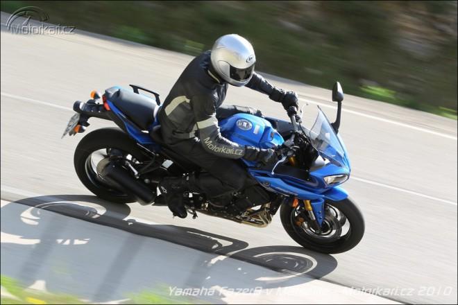 Yamaha FZ8 a Fazer8 v Marseille