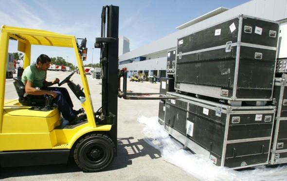 Materiál z Motegi už je v Jerezu