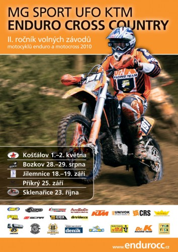 Pozv�nka na 1. podnik Enduro Cross Country